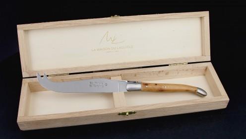 Couteau à fromage - genévrier