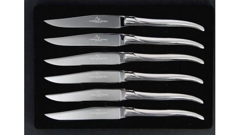 Spécial lave vaisselle - Coffret 6 couteaux Inox poli
