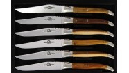 Coffret 6 couteaux - Pistachier