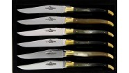Coffret 6 couteaux - Corne Vache Aubrac