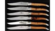 Coffret 6 couteaux - Genévrier
