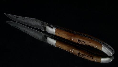 SERIE LIMITEE - Laguiole Sarrans Pommier brute de forge